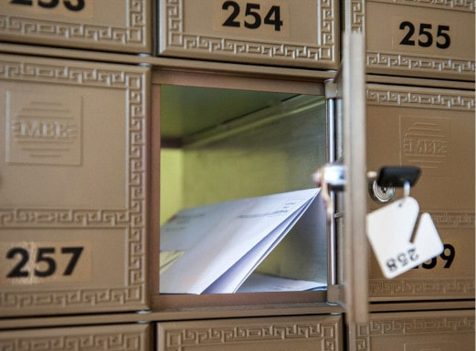 private mail box services